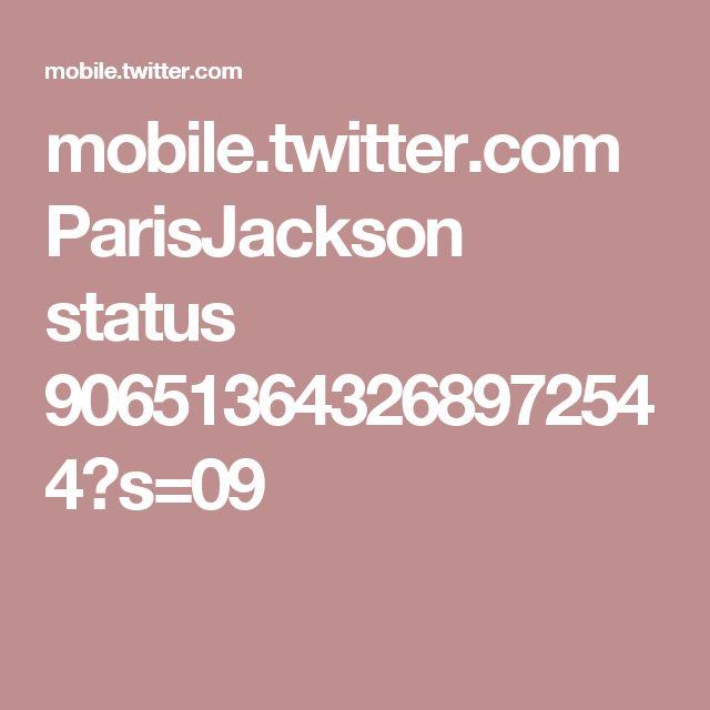 mobile.twitter.com ParisJackson status 906513643268972544?s=09