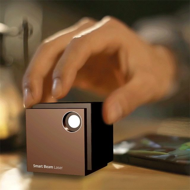 The World's First Eye-Safe Pico Laser Projector  Portable 2 inch cube projects up to 150 inch HD screen. UO Smart Beam Laser equips LCOS technology. This is the first LASER projector which you will not adjust focus. It will stay focused all the time. You can enjoy sharp vivid color images whenever and wherever you want. Simply connect with a smartphone, tablet, laptop, pc, media player or any other devices to play video, audio, picture, presentations using Wi-Fi or Wire.    UO Smart Beam…
