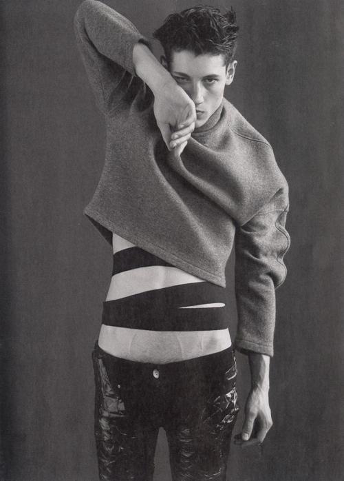 gesnounou: hommee—models: Nicolas Ripoll