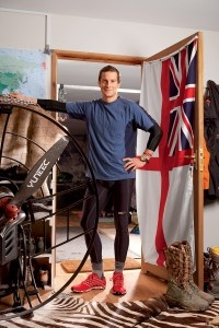 Between surviving uncharted terrain and drinking and eating anything that crosses his path, ultimate survivor Bear Grylls is also an inspirational runner.