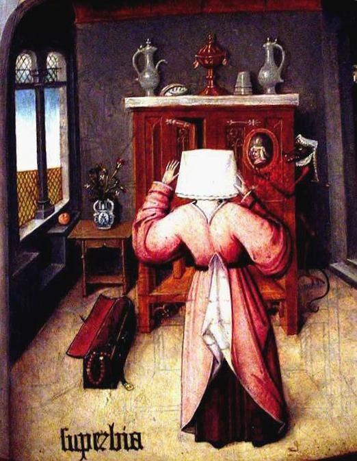 Superbia (Pride), Hieronymus Bosch