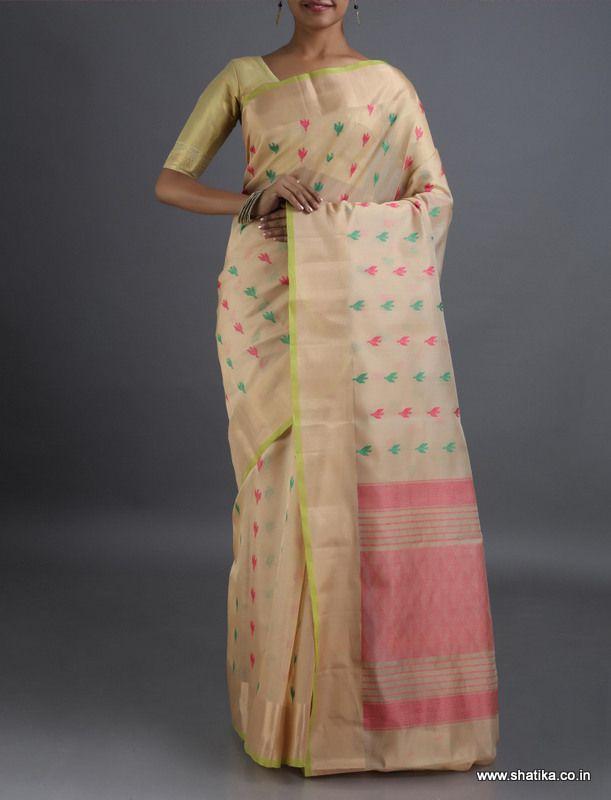 Navakarnika Colorful Modern Bootis #CoimbatoreSilkCottonSaree