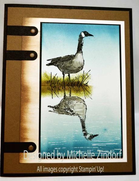 Goose Reflection - MZ by Zindorf - Splitcoaststampers