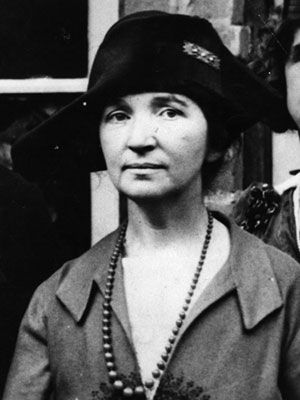 Margaret Sanger founded the American Birth Control League, which became Planned Parenthood. The sixth of 11 children — she felt that frequent pregnancies hastened her mother's early death — Sanger worked to give us control over the means of reproduction.