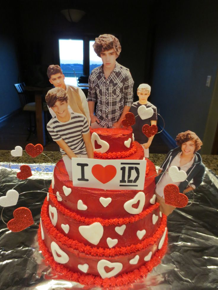 One Direction cake for CHS