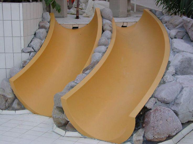 Fiber Decor :: Waterspeeltoestellen/Glijbanen | Wij maken van elk peuterbad een echte waterspeeltuin.