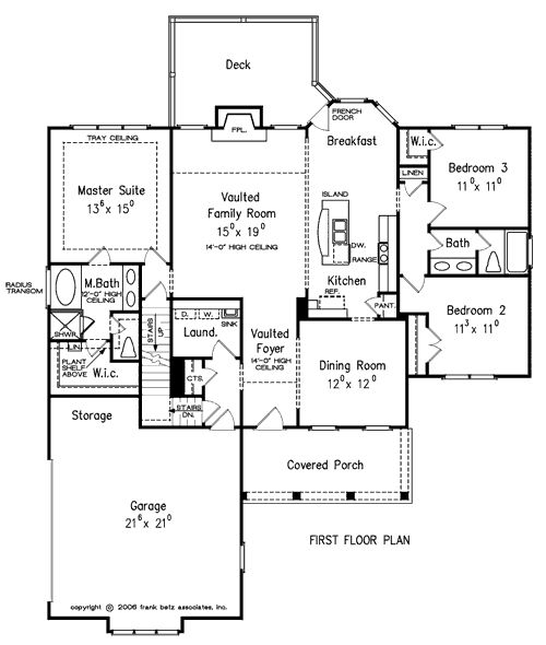 Summergrove home plans and house plans by frank betz for Frank betz floor plans