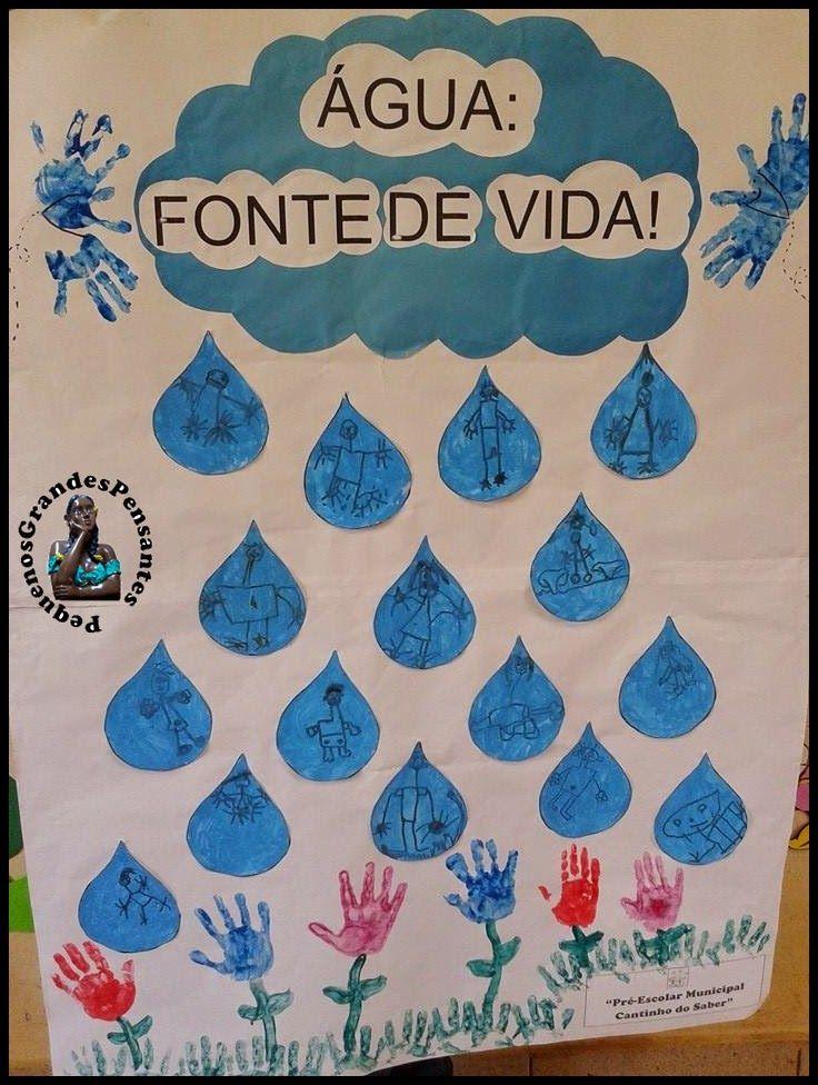 Mural Dia Mundial da Água