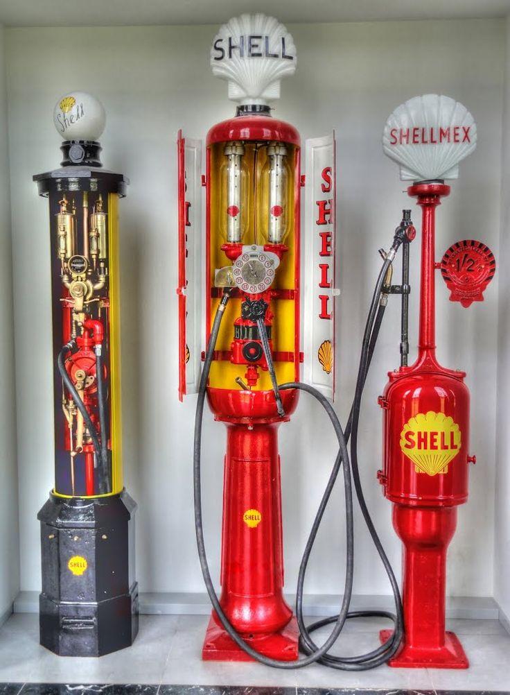 Vintage Gas Pumps.