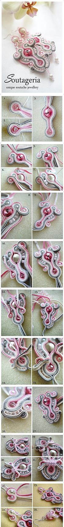 Tutorial pendientes soutache