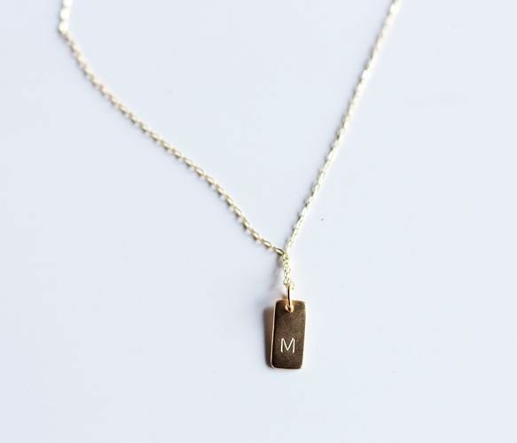 Personalized Initial Pendant - The perfect necklace that you need to  support yourself or loved ones!