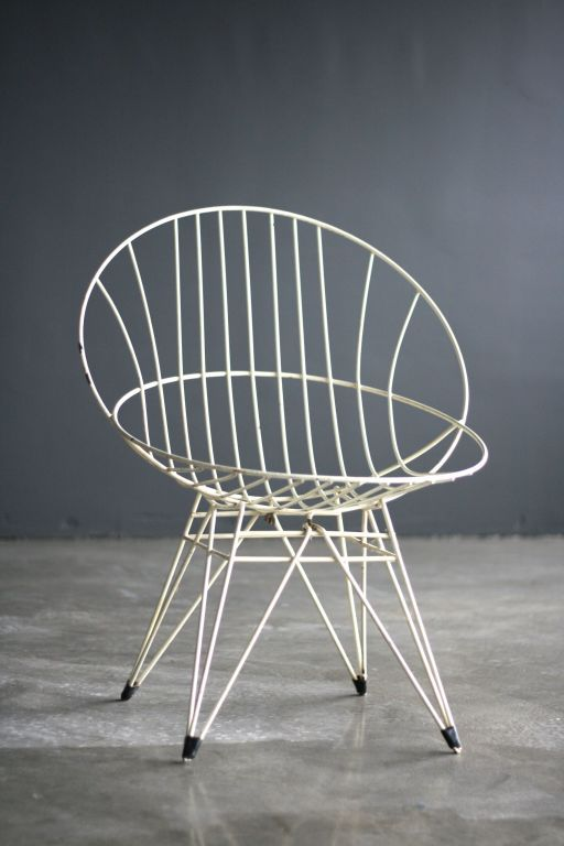 Cees Braakman Combex Wire Chair for UMS-Pastoe