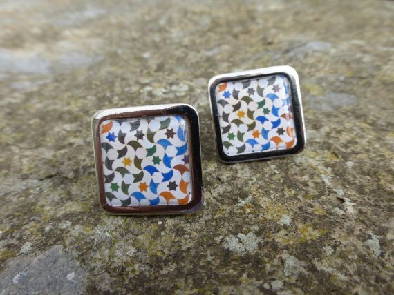 Alhambra Decorative Moorish Tesselation / Tile by DragonTreeStudio