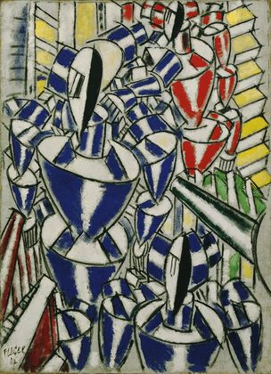 MoMA | The Collection | Fernand Léger. Exit the Ballets Russes. 1914