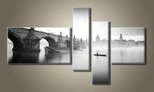 Картина модульная (65х118 см.) - Прага, Арт. HAF-022
