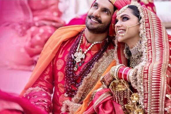 The Real Anushka Sharma Deepika Padukone Lehenga Cost Frugal2fab Desi Bride Bollywood Wedding Deepika Padukone Lehenga