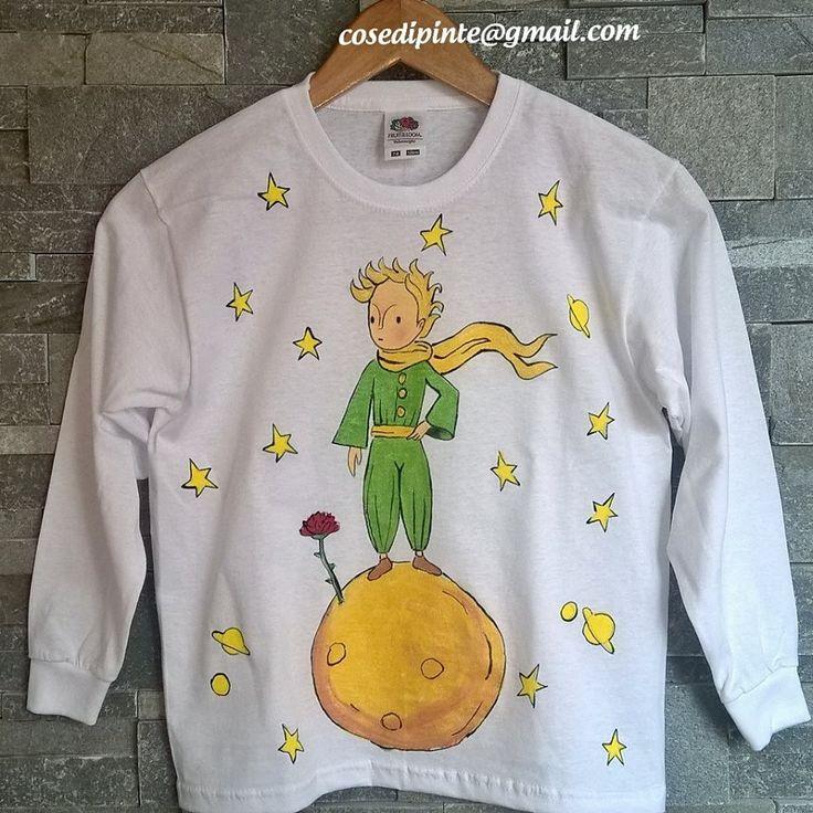 maglietta, abbigliamento, bambino, Il Piccolo Principe, film
