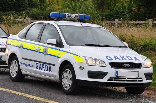 An Garda Siochana Irish Police Force Ford Focus Patrol Car