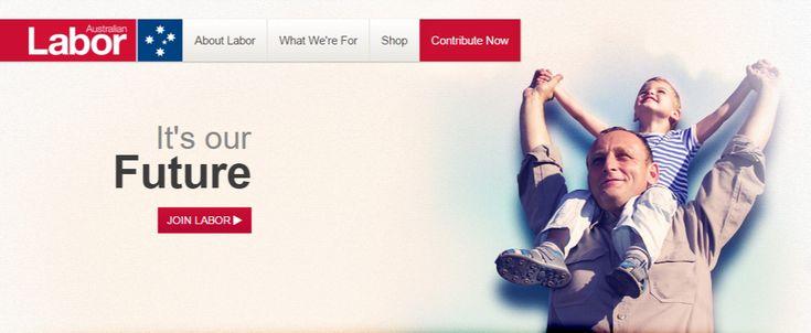 호주 노동당 홈페이지.