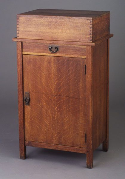 Gustav Stickley Cabinet