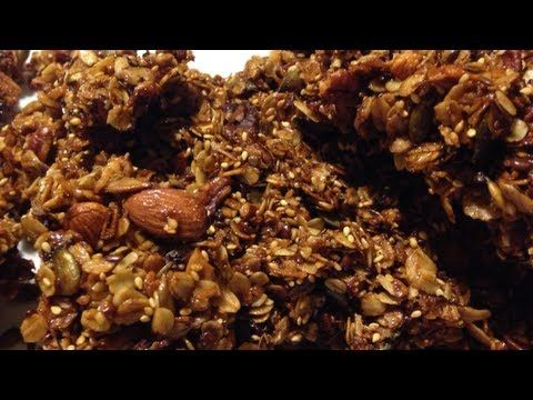 como hacer granola . receta deliciosa