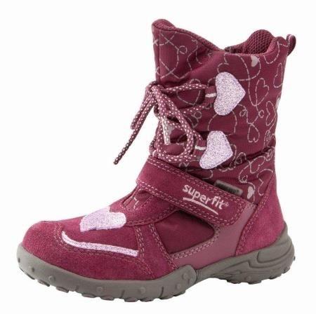 Обувь суперфит детская сапоги для девочки зимние