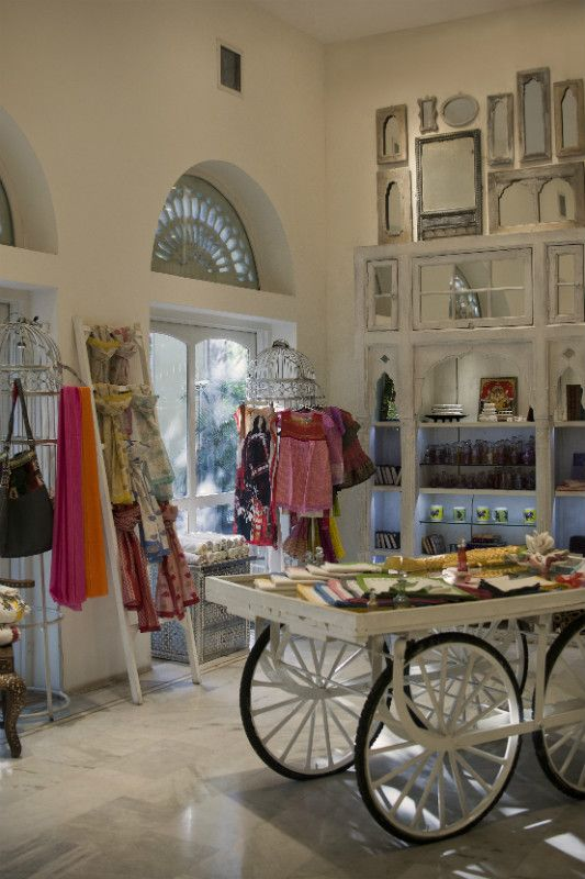 Incredible Travel Products You Didn't Know You Needed Where to shop in Jaipur: Aashka has a distinct equestrian theme, even stocking products from menswear brand Polofactory. Photograph: Sam Parekh #Jaipur #India #shopping