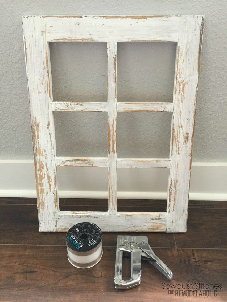 Rustic Window Frame By Sawdust2stitches For Remodelaholic