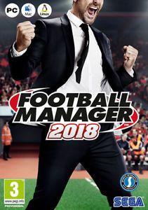 A Football Manager 2018 Juego Completo Pcmac Y Editor Avisos