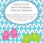 Independent Busy Work for First Grade Math & Literacy Skil