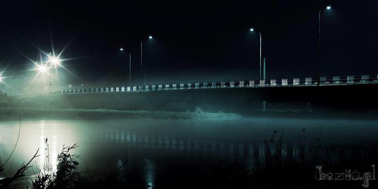 Nocny Pińczów - most