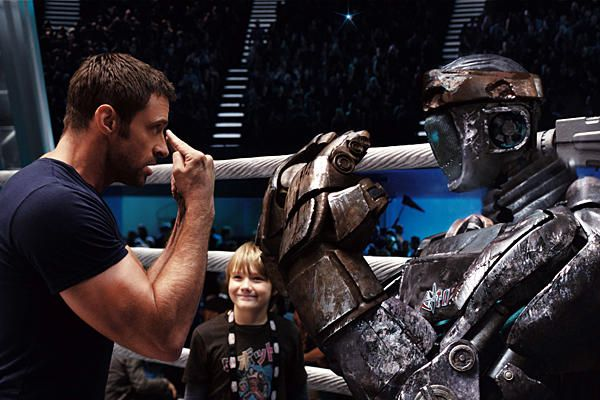 """43. Real Steel """"watch me""""-Charlie """"you know your talking to a robot right""""-Max """"i know, shut up""""-Charlie i love this movie, i watch it just about every night <3<3<3"""