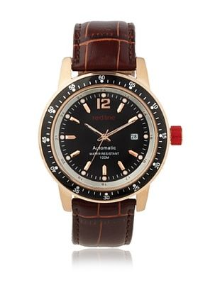 red line Men's RL-50013-RG-01-BR Meter Collection Watch