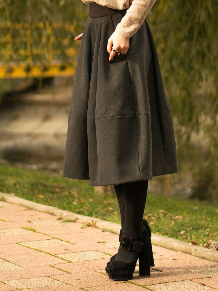 #midiskirt #outfit #streetstyle