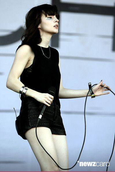 Lauren Mayberry of Chvrches performs during the Austin City Limits Music Festival at Zilker Park on October 3, 2014 in Austin, Texas.  (Photo by Tim Mosenfelder/Getty Images)