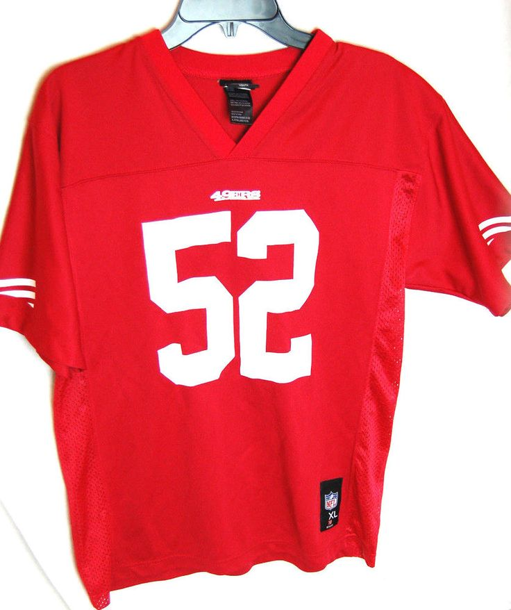 Patrick Willis #52 San Francisco 49ers Youth XL NFL Jersey Red #NFLTeamApparel #SanFrancisco49ers