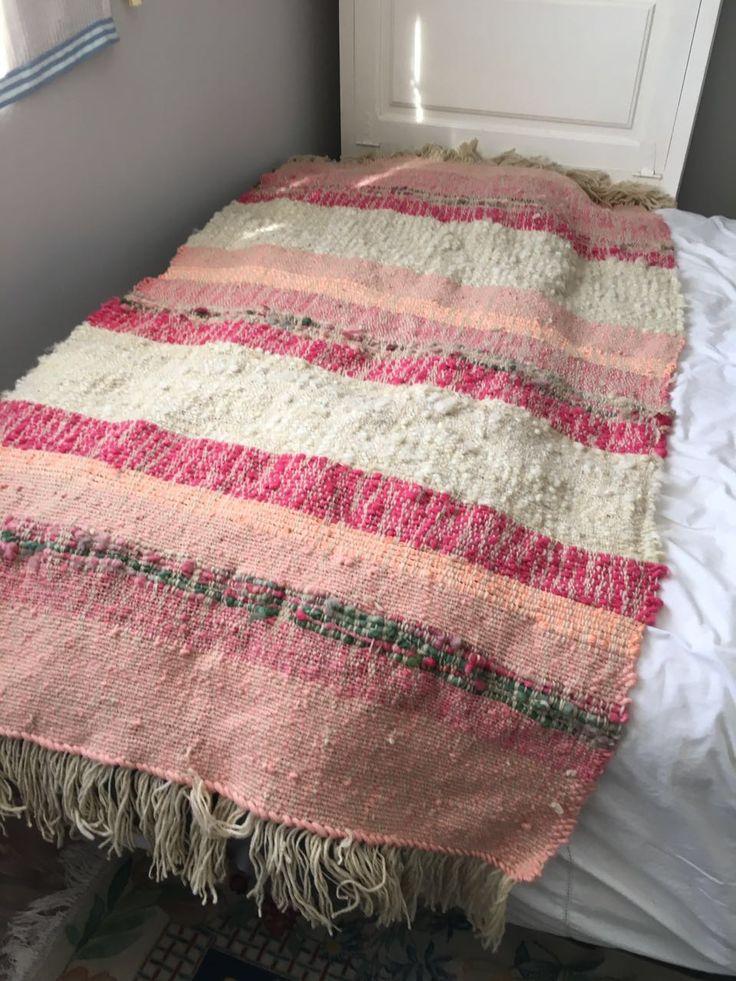 Piecera de 2 plazas con 100%lana de Tilonka Lanas. CLP 100.000