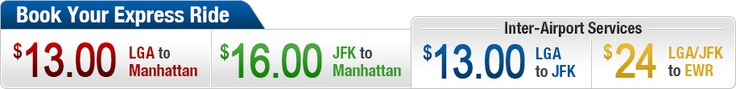 New York Airport Shuttle Bus Service | JFK | LaGuardia | Newark Airport