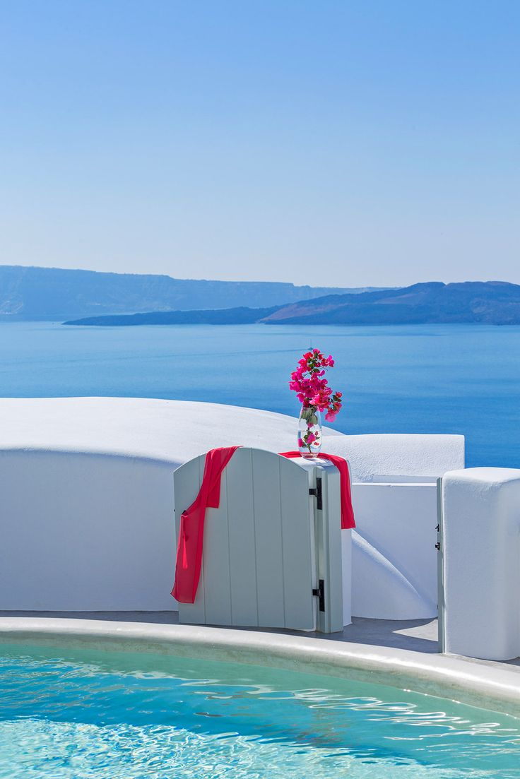 Stunning Views... from Andronis Boutique Hotel Oia Santorini