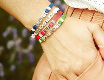Did you know that you can design your very own TOUS bracelet? Just pick the Color, your message and size!Come to TOUS Washington DC Store