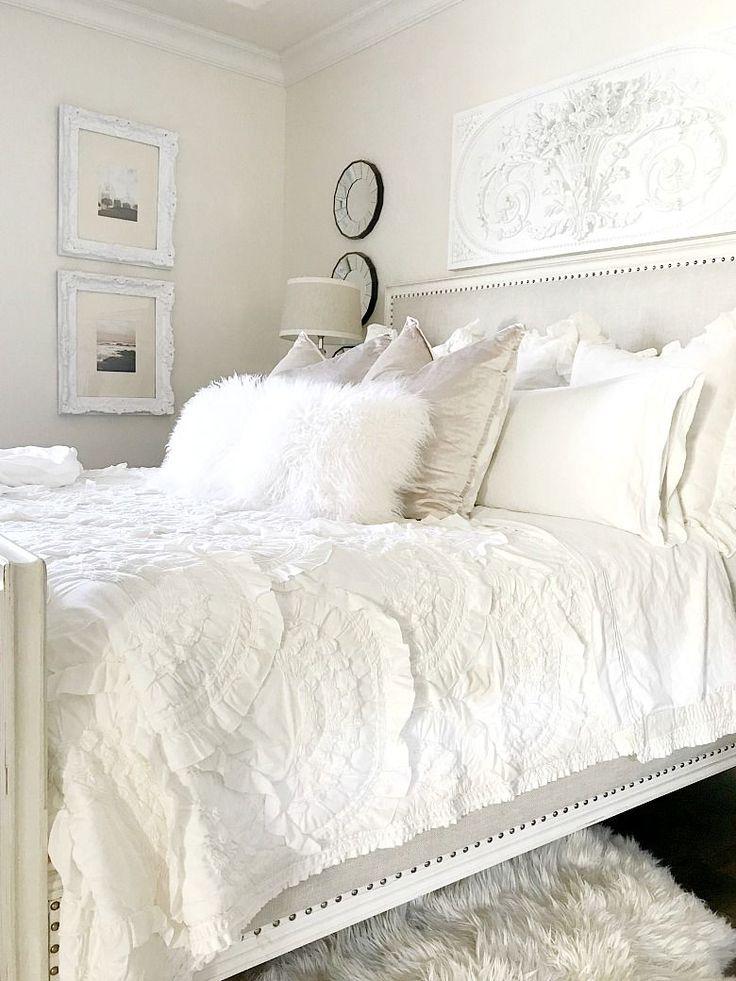 Best 25 Neutral Bedroom Decor Ideas On Pinterest Neutral Bedrooms White Comforter Bedroom