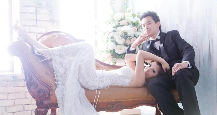 Our pre-wedding photo taken in Taiwan - Cabnolen