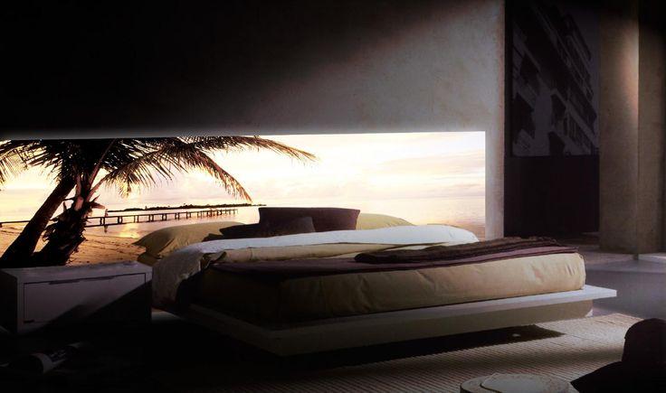 Cabeceros Retroiluminados : modelo Dominicana beach. Decoracion Beltran, tu tienda de cabeceros retroiluminados en Internet. www.decoracionbeltran.com