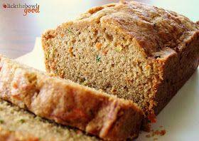 Lick The Bowl Good: Zucchini Carrot bread