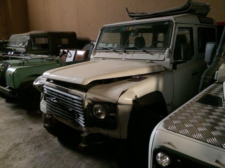 Land rover defender, Damaged ninety td5 for sale