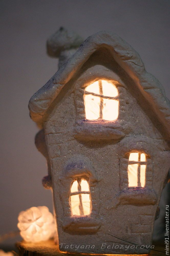 декорирование фигур из папье-маше