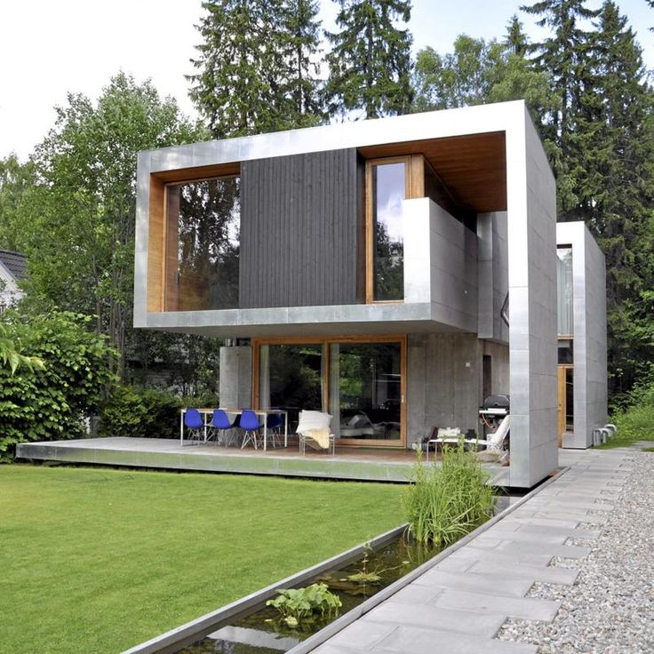 AJensen og Skodvin. rchitect designed house on Smestad - Oslo's villa, Smestad This villa is one of the best building in Oslo, experts say