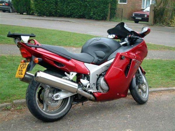 Bonzos 2001 Red Honda Blackbird