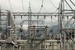 An power substation is a subsidiary station of an electricity generation, transmission and distribution system where voltage is transformed from high