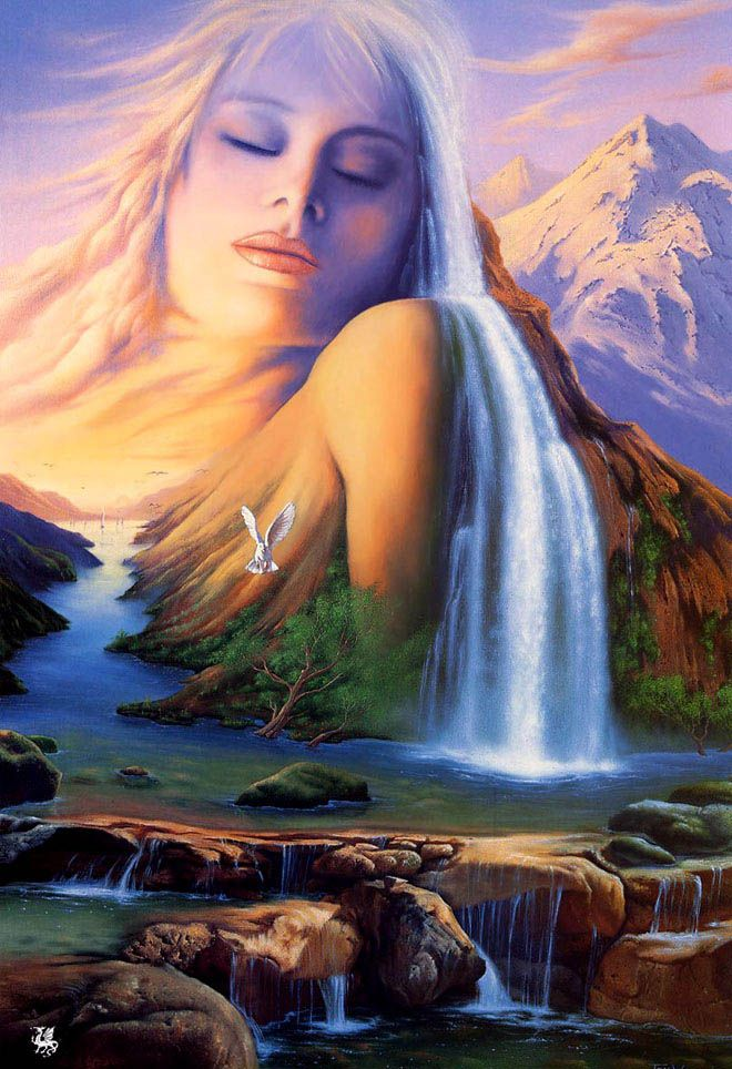 25 Mind Blowing and Surreal Paintings by Jim Warren - Master of Imagination. Read full article: http://webneel.com/webneel/blog/25-mind-blowing-and-surreal-paintings-jim-warren-master-imagination | more http://webneel.com/paintings | Follow us www.pinterest.com/webneel
